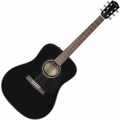 Fender CD-60 V3 - akusztikus western gitár, fémhúros, fekete