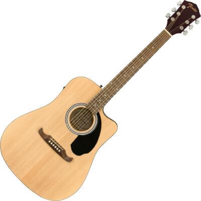 Fender FA-125CE - elektroakusztikus western gitár, natúr