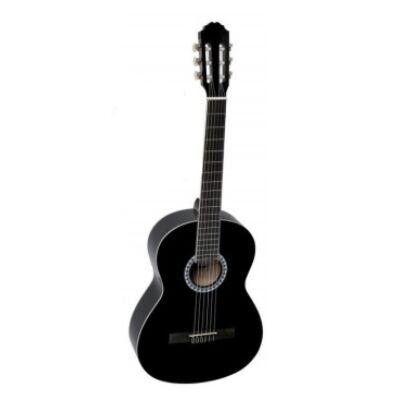 VGS Basic 3/4-klasszikus gitár, nylonhúros, fekete