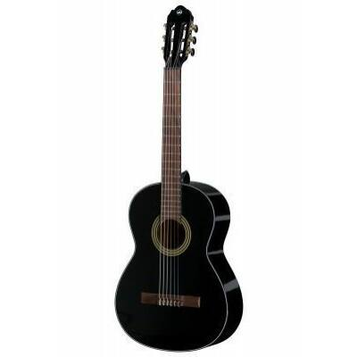 VGS Student Fekete VG klasszikus gitár, fekete