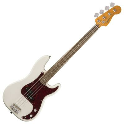 Fender SQ Classic Vibe 60s Precision Bass LRL basszusgitár, Olympic White
