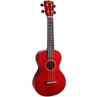 Mahalo koncert ukulele, piros