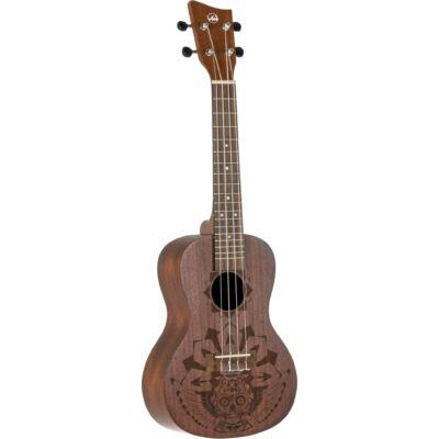 """Gewa koncert ukulele, """"mexikó"""" mintás"""