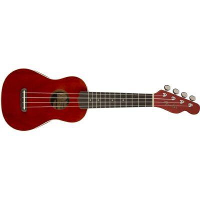 Fender Venice Sopran ukulele, cseresznye szín
