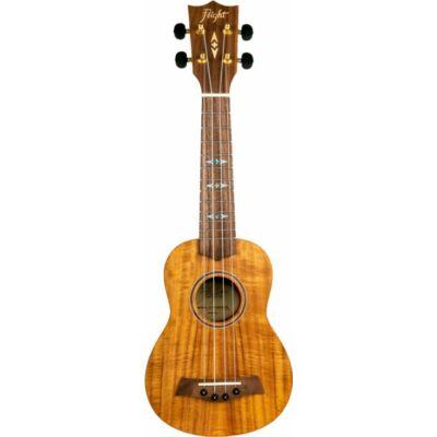 Flight szoprán ukulele zebrafa, Aquila húrral