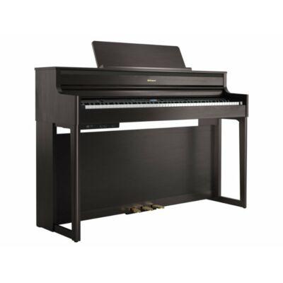 Roland HP-704 DR (rózsafa) digitális zongora (zeneszerzéshez is)