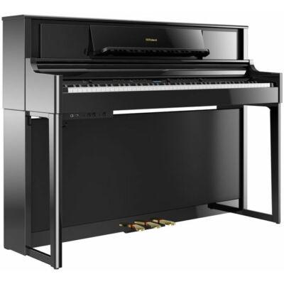 Roland LX-705 PE digitális zongora, fekete, lábazattal és pedállal (KSL-705 PE)