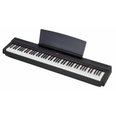 Yamaha P-125 - digitális zongora, fekete