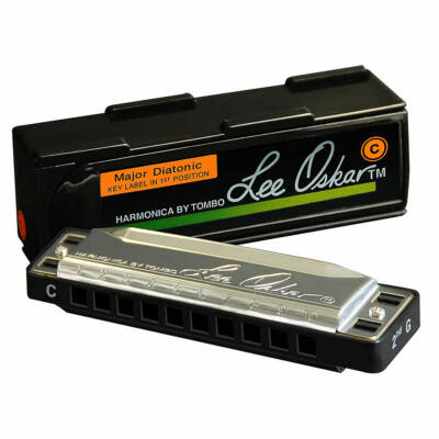Lee Oskar HT-1910-C Harmonica Major C