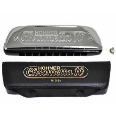 Hohner Chrometta 253-40-C - KROMATIKUS szájharmonika