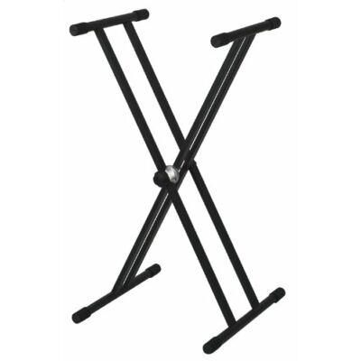 BSX szintetizátor állvány, dupla láb, x láb