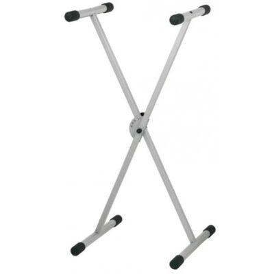 FX szintetizátor állvány, ezüst, x láb