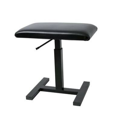 Gewa Deluxe zongorapad,fekete műbőr ülés, hidraulikus