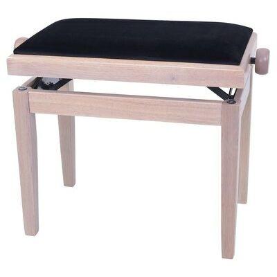 Gewa Deluxe zongorapad, natúr, tömör fa, egyenes láb