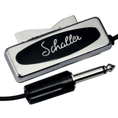 Schaller akusztikus hangszedő, vintage, gitár