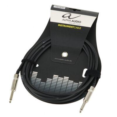 Alpha Audio hangszer kábel, 3m, egyenes prémium