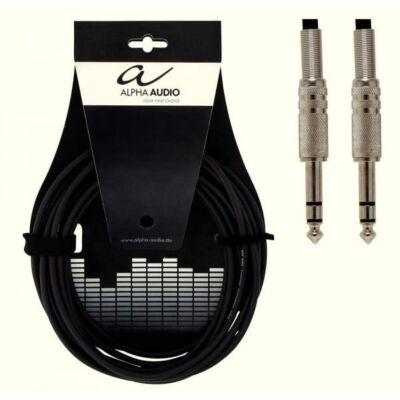 Alpha Audio stereo jack kábel, 3m, egyenes