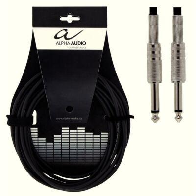 Alpha Audio hangszer kábel, 3m, egyenes