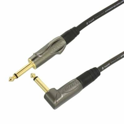 Bespeco TT300P hangszer kábel, titánium pipa + egyenes 3m