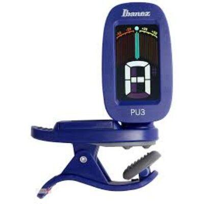 Ibanez PU3-BL - hangoló, csiptethető, kromatikus, kék