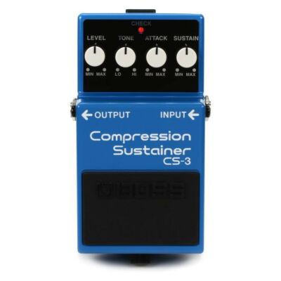 Boss CS-3 gitáreffekt pedál, compressor sustainer