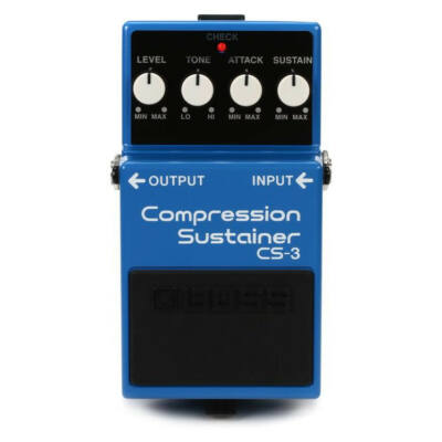 Boss CS-3 gitáreffekt pedál, compressor sustainer
