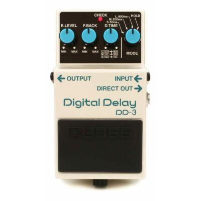 Boss DD-3 gitáreffekt pedál, digital delay