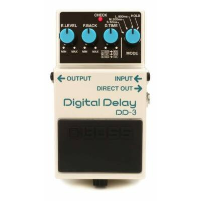 Boss DD-3 gitáreffekt pedál, digital delay