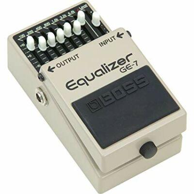 Boss GE-7 gitáreffekt pedál, graphic equalizer, 7 frekvenciasáv