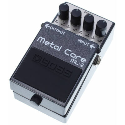 Boss ML-2 gitáreffekt pedál, torzító metal core