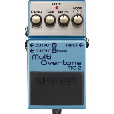 Boss MO-2 gitáreffekt pedál, multi overtone