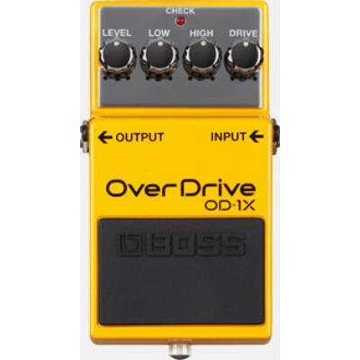 Boss OD-1X gitáreffekt pedál, torzító overdrive