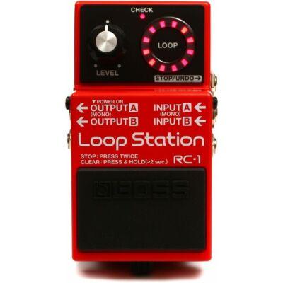 Boss RC-1 gitáreffekt pedál, loop station
