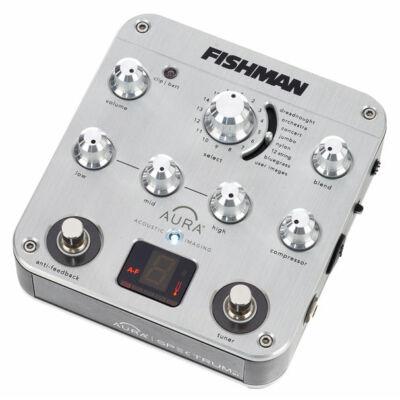 Fishman Aura Spectrum DI - akusztikus effekt