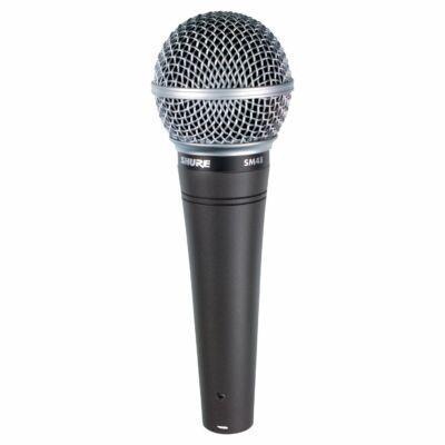 Shure SM48S-LC dinamikus ének mikrofon