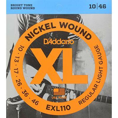 Daddario EXL110 10-46 Regular Light Gauge - elektromos gitár húrkészlet