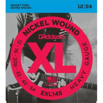 Daddario EXL145 12-54 Hea Gauge - elektromos gitár húrkészlet