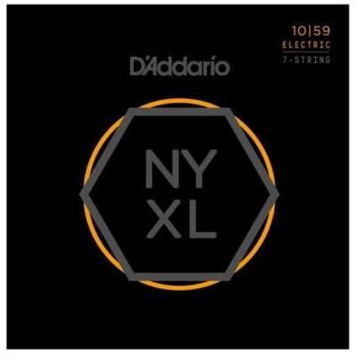 Daddario NYXL1059 Regular lite 7 húros - elektromos gitár húrkészlet