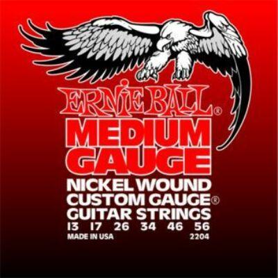 Ernie Ball Nickel Wound 13-56 - elektromos gitár húrkészlet