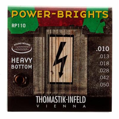 Thomastik RP110 - Power Brights - elektromos gitárhúrkészlet