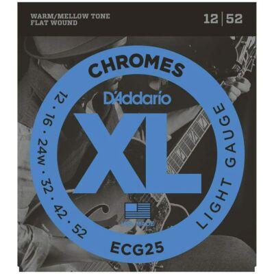 Daddario ECG25 12-52 Chromes - jazz gitár húr