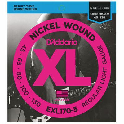 Daddario EXL170-5 045-130 - basszusgitár húrkészlet