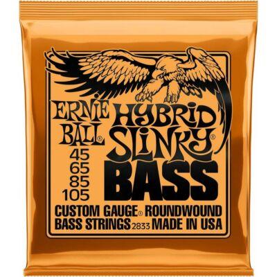 Ernie Ball 45-105 Nickel Wound Bass Hybrid Slinky - basszusgitár húrkészlet
