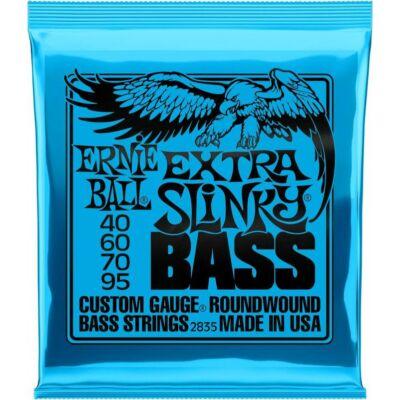 Ernie Ball 40-95 nickel Wound Bass Extra Slinky - basszusgitár húrkészlet
