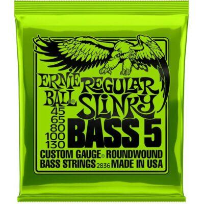 Ernie Ball 45-130 nickel Wound Bass Regular Slinky - basszusgitár húrkészlet