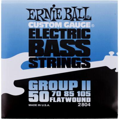 Ernie Ball 50-105 Flatwound Group II - köszörült basszusgitár húrkészlet
