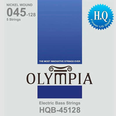 Olympia HQB-45128 nickel wound 45-128 - basszusgitár húrkészlet