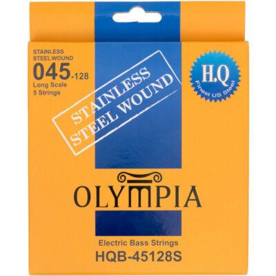 Olympia HQB-45128S stainless steel 45-128 - basszusgitár húrkészlet