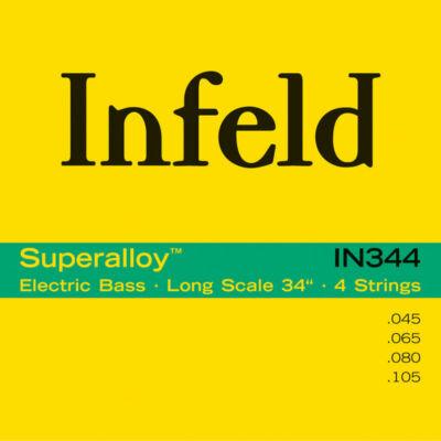 Thomastik INFELD - IN344 - basszusgitár húrkészlet
