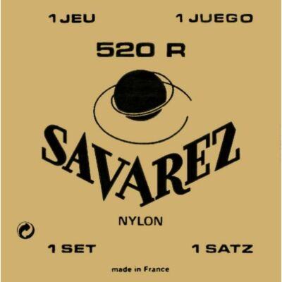 Savarez 520R Concert High Tension klasszikus gitár húrkészlet